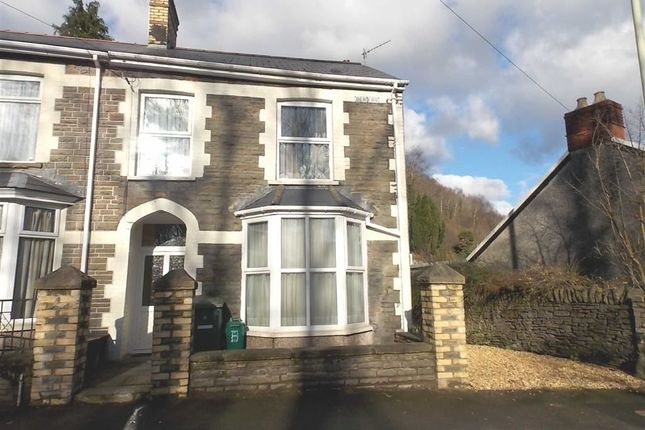 Thumbnail End terrace house for sale in Berw Road, Pontypridd