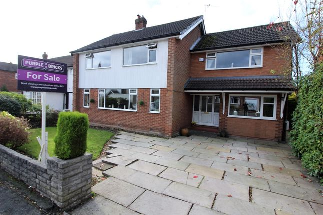Thumbnail Detached house for sale in Exeter Close, Cheadle Hulme