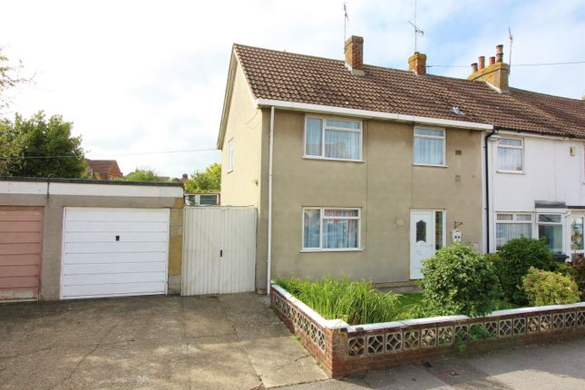 Thumbnail End terrace house for sale in Mead Road, South Willesborough, Ashford