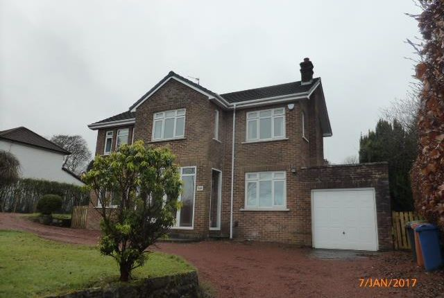 Thumbnail Detached house to rent in St. Andrews, Grampian Way, Bearsden, Glasgow