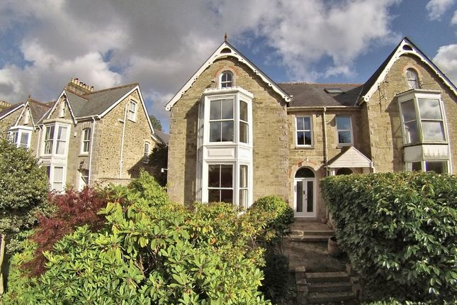 Thumbnail Town house for sale in Tregolls Road, Truro