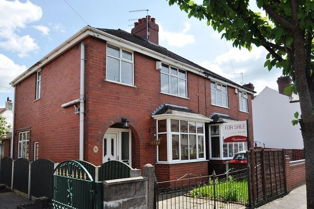 Thumbnail Semi-detached house for sale in Nelson Road, Hartshill, Stoke-On-Trent, Staffordshire