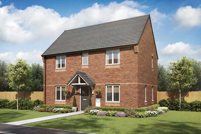 """Thumbnail Detached house for sale in """"The Mountford"""" at Hastings Road, Grendon, Atherstone"""