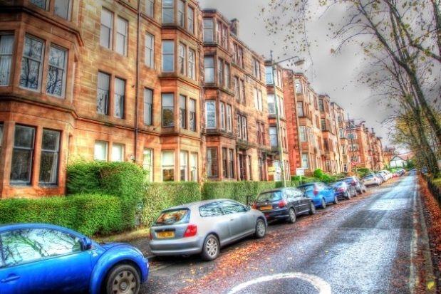 Thumbnail Flat to rent in Queensborough Gardens, Dowanhill, Glasgow
