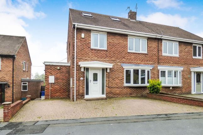 Thumbnail Semi-detached house for sale in Thorntree Gill, Peterlee