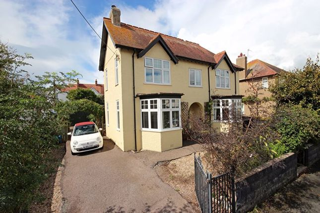 Thumbnail Detached house for sale in Meadow Road, Seaton