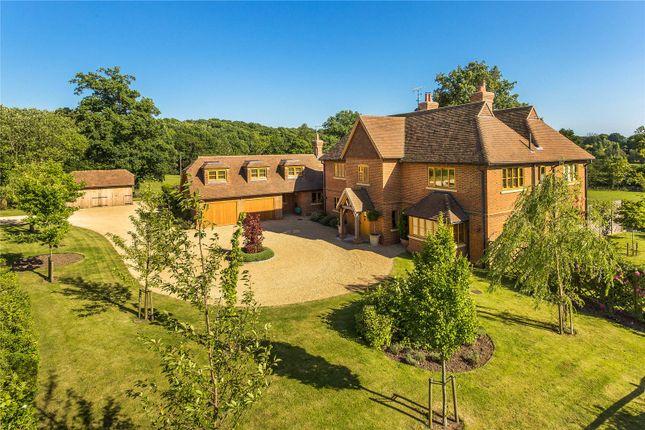 Thumbnail Detached house for sale in Farnham Road, Ewshot, Farnham