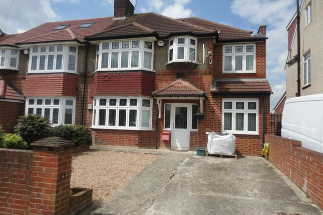 Thumbnail Semi-detached house for sale in Burns Way, Hounslow, Heston