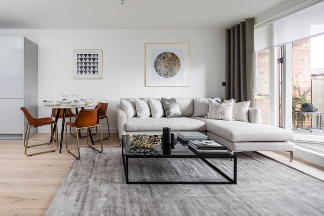 Thumbnail 1 bedroom flat for sale in Belsize Road, South Hampstead