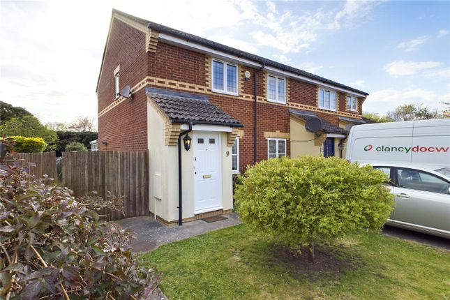 2 bed end terrace house for sale in Kefford Close, Bassingbourn, Royston SG8