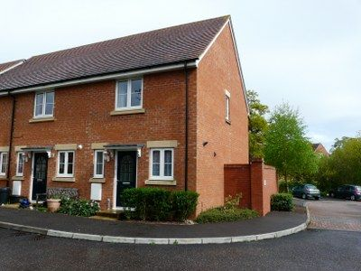 Thumbnail End terrace house to rent in Massey Road, Tiverton