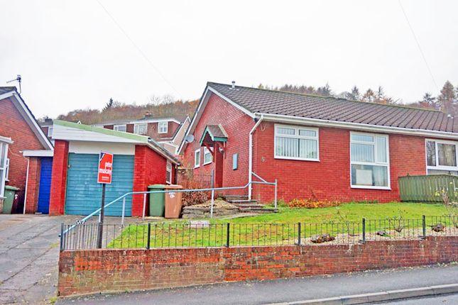 Thumbnail Semi-detached bungalow for sale in Heathlands, Ystrad Mynach