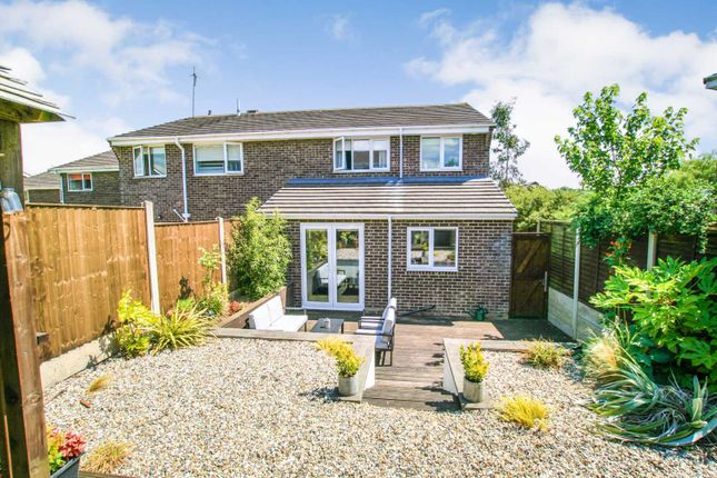 Thumbnail Semi-detached house for sale in Ullswater Drive, Dronfield Woodhouse, Derbyshire