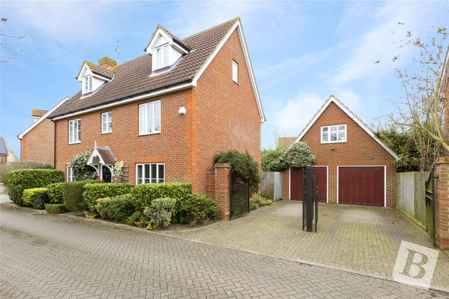 Thumbnail Detached house for sale in Leeford, Chelmsford, Essex