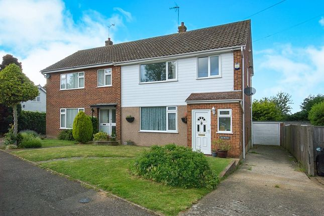 Thumbnail Semi-detached house for sale in The Birches Quakers Close, Hartley, Longfield