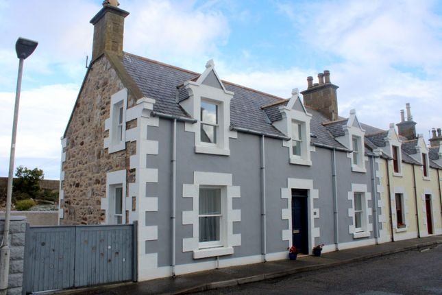 Thumbnail Leisure/hospitality for sale in Holiday Cottage, 3 Church Street, Findochty, Moray