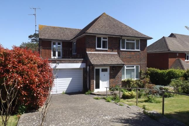 Thumbnail Detached house for sale in Upper Ratton Drive, Eastbourne, East Sussex