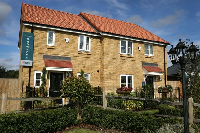 Thumbnail Semi-detached house for sale in The Charlton, Meadow Croft, Houghton Conquest