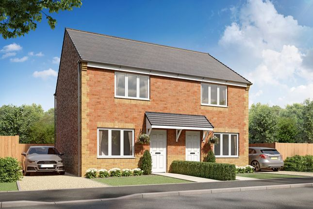 "Thumbnail Semi-detached house for sale in ""Cork"" at Durham Road, Middlestone Moor, Spennymoor"