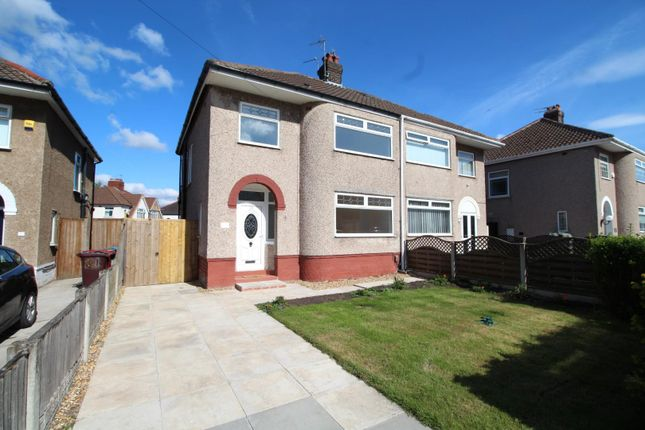 Thumbnail Semi-detached house for sale in Maple Crescent, Huyton, Liverpool