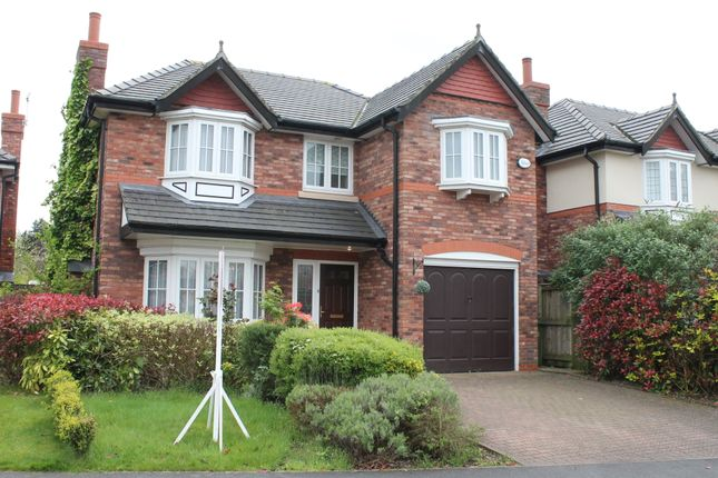Thumbnail Detached house to rent in Kingsbury Drive, Wilmslow, Cheshire