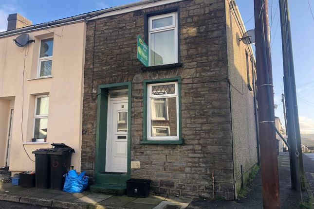 Thumbnail End terrace house for sale in Margaret Street, Merthyr Tydfil