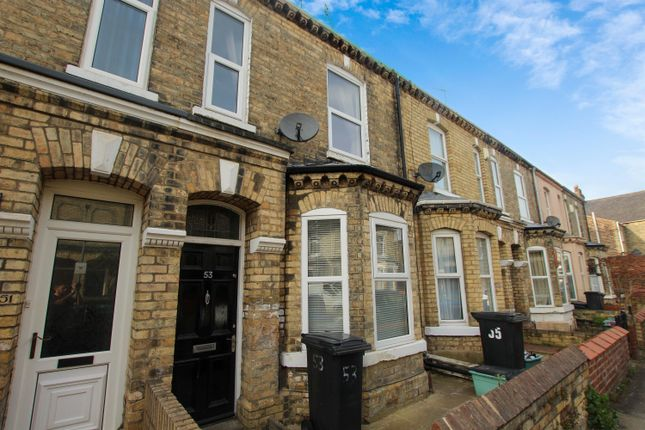 Thumbnail Terraced house to rent in Brownlow Street, York