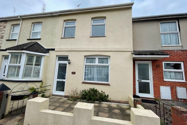 Thumbnail Terraced house to rent in Salisbury Road, Exmouth