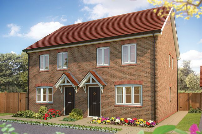 "2 bed terraced house for sale in ""The Holly "" at Drake Grove, Burndell Road, Yapton, Arundel BN18"