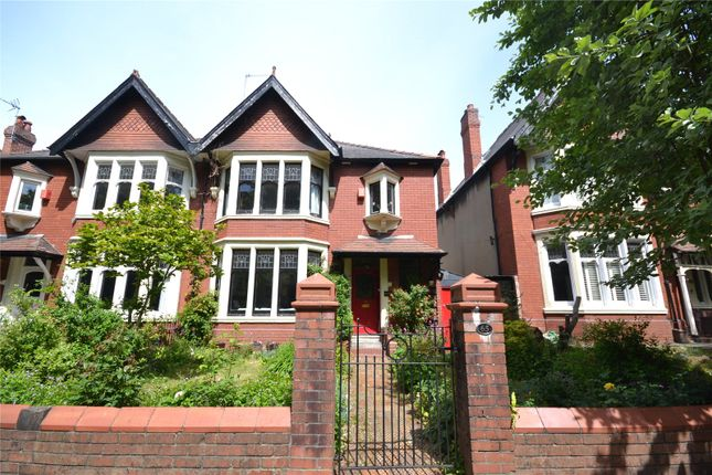 Thumbnail Semi-detached house for sale in Ty Draw Road, Penylan, Cardiff