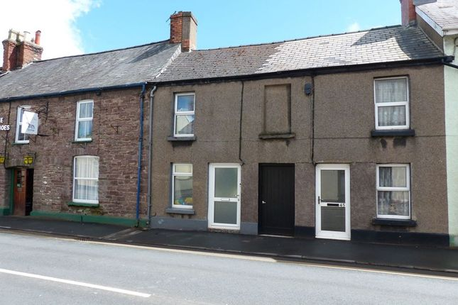 Thumbnail Terraced house to rent in Orchard Street, Brecon
