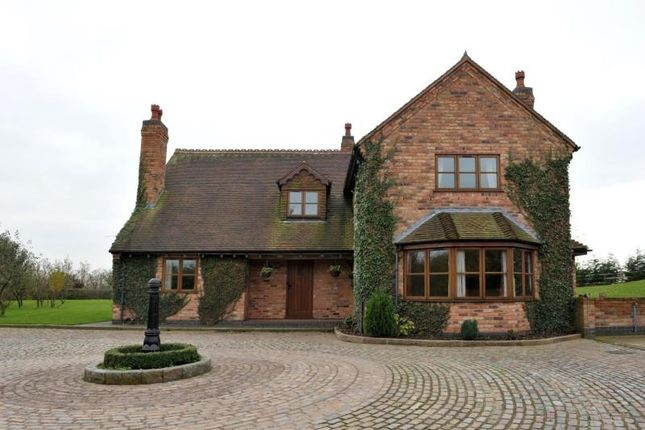 Thumbnail Detached house to rent in Manor House Farm, Bulls Lane, Wishaw, Sutton Coldfield