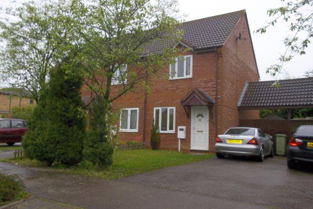 Thumbnail Semi-detached house to rent in Litchfield Down, Walnut Tree, Milton Keynes