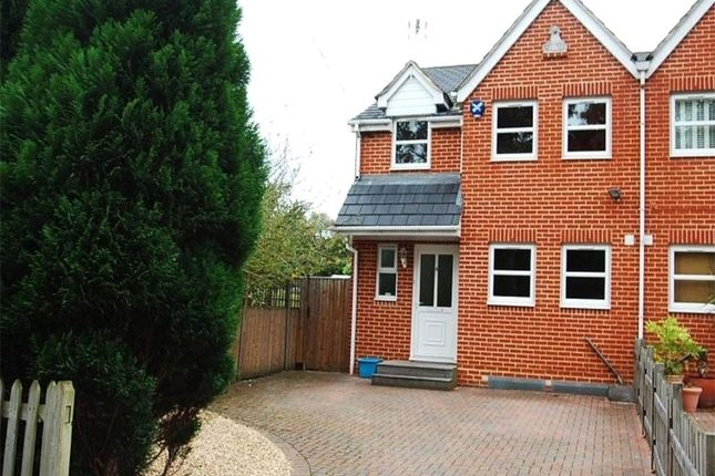 Thumbnail Semi-detached house to rent in Crown Cottages, Vicarage Road, Egham, Surrey