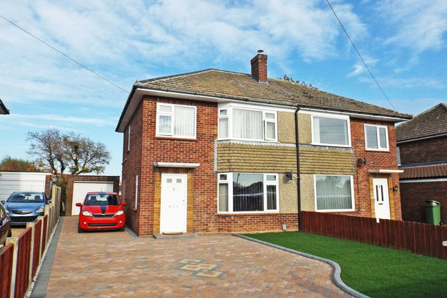 Thumbnail Semi-detached house for sale in Upper Breckland Road, New Costessey, Norwich