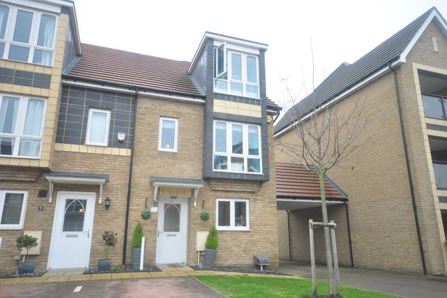 Thumbnail End terrace house to rent in Stone House Lane, Dartford