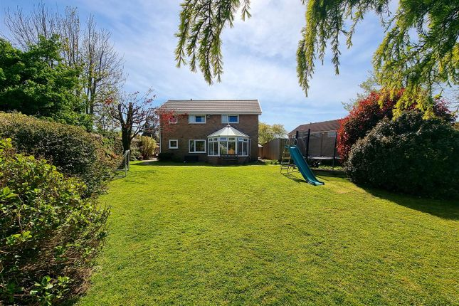 Thumbnail Detached house for sale in Vaughan Place, Loughor, Swansea