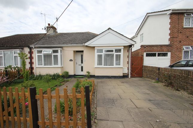 Thumbnail Semi-detached bungalow for sale in Eastbury Avenue, Ashingdon, Rochford
