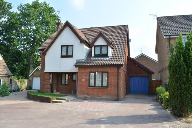 Thumbnail Detached house for sale in Taunton Close, Worth