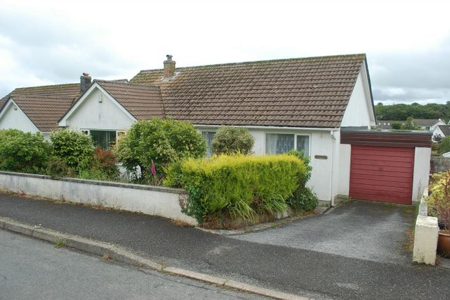 Thumbnail Detached bungalow for sale in Springfield Close, Polgooth, St Austell, Cornwall