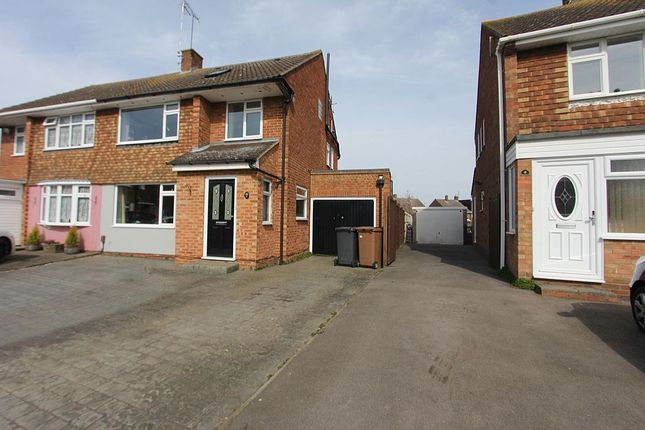 Thumbnail Semi-detached house for sale in Abbess Close, Chelmsford, Essex
