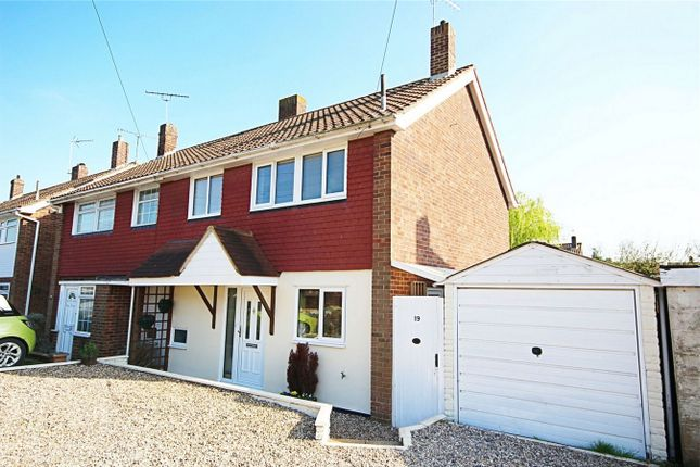 Thumbnail Semi-detached house for sale in The Four Acres, Sawbridgeworth, Herts