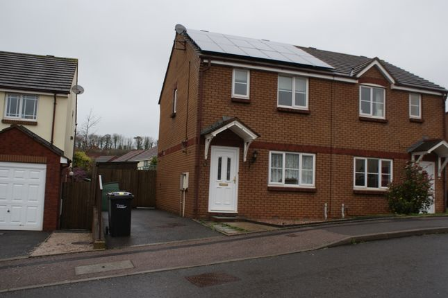 Thumbnail Semi-detached house to rent in Pitcairn Crescent, Torquay