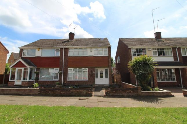 Thumbnail Semi-detached house to rent in Bruntingthorpe Way, Binley, Coventry
