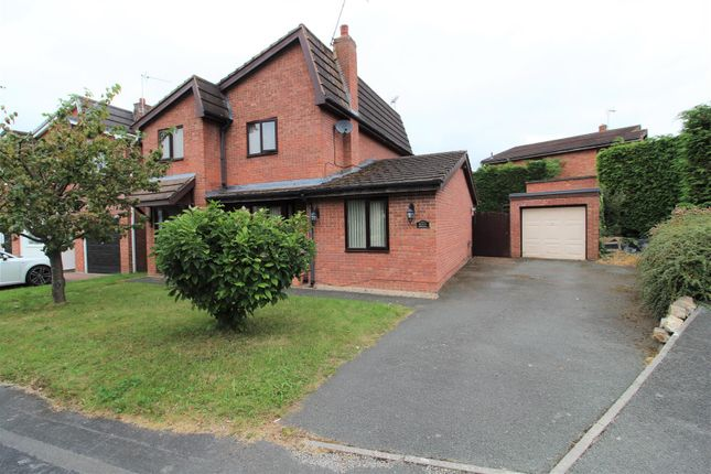 Thumbnail Detached house for sale in The Homestead, Wrexham