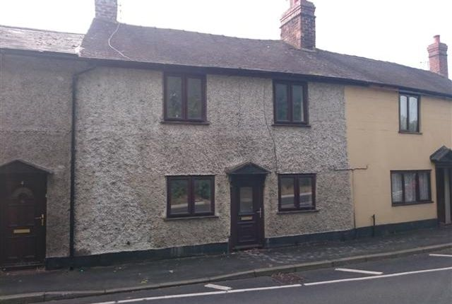 Thumbnail Terraced house for sale in Ellesmere Road, Wem
