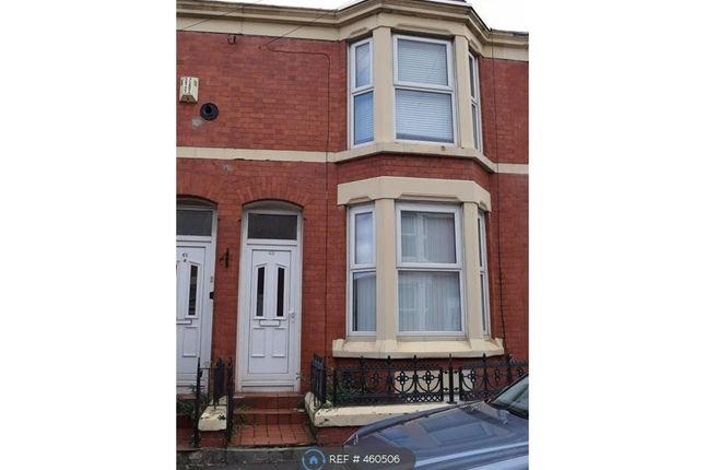 Thumbnail Terraced house to rent in Adelaide Road, Liverpool