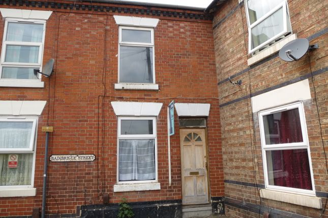 Thumbnail End terrace house for sale in Bainbrigge Street, Derby