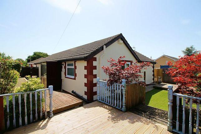 Thumbnail Detached bungalow for sale in Heol Hensol, Beddau, Pontypridd