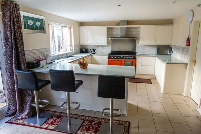 Thumbnail Detached house for sale in Hall Drive, Worksop